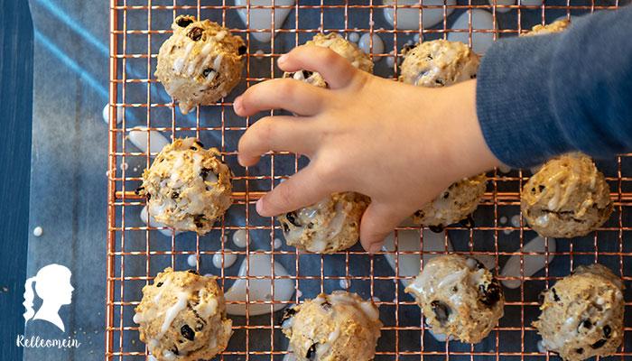 Einfache Kekse mit Rosinen und Zimt (Thermomix® Rezept)