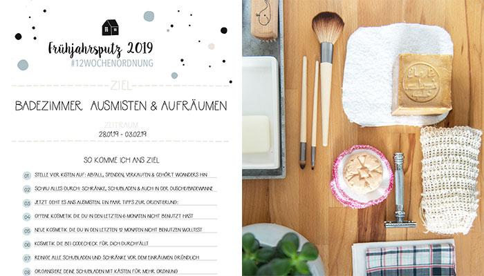 Frühjahrsputz - Badezimmer (4/12) - Rezepte, Ordnungsideen und DIY ...