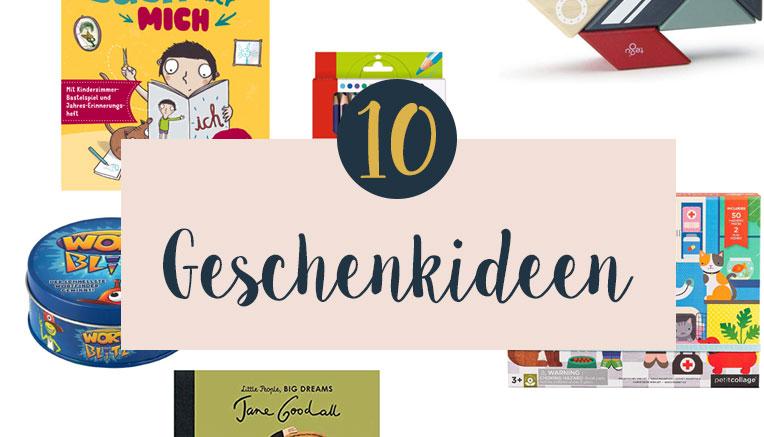 10 Geschenkideen für Kindergartenkinder