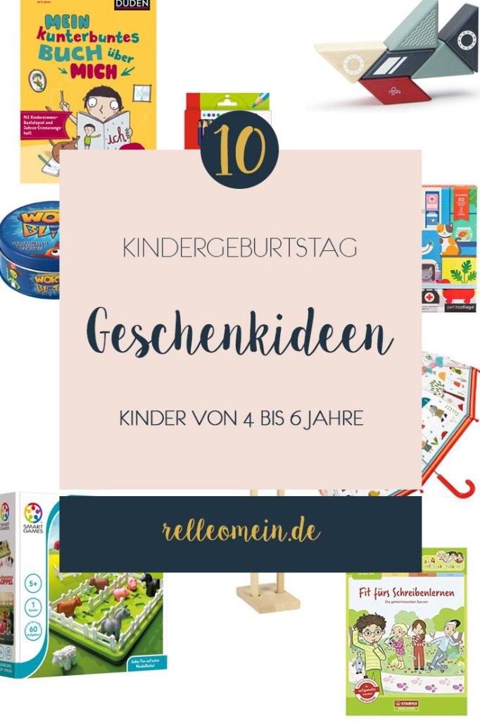 Kindergeburtstag - 10 Geschenkideen für Kinder von 4 bis 6 Jahre