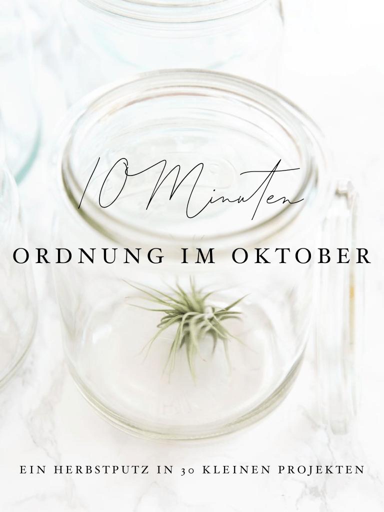 10 Minuten Ordnung im Oktober - 30 kleine Ordnungsprojekte für ein ordentliches Zuhause   relleomein.de #ordnungschallenge #aufräumen #marikondo