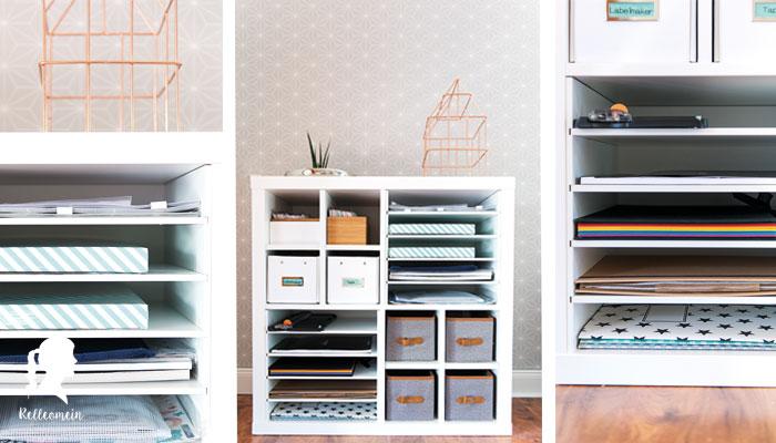 Ikea Kallax Regal Hack mit New Swedish Design Realeinsätzen   relleomein.de
