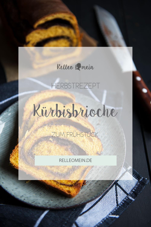 Kürbis Brioche mit Zimt - Herbstrezept fürs Frühstück - auch als Thermomix® Rezept | relleomein.de