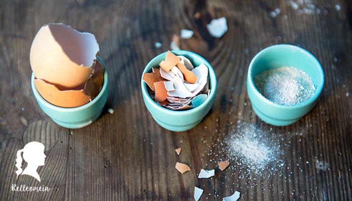Natürlicher Dünger – Eierschalen