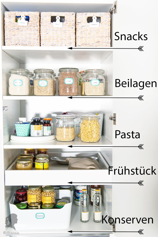 Ordnung Im Küchenschrank mehr ordnung in der küche vorratsschrank organisieren rezepte