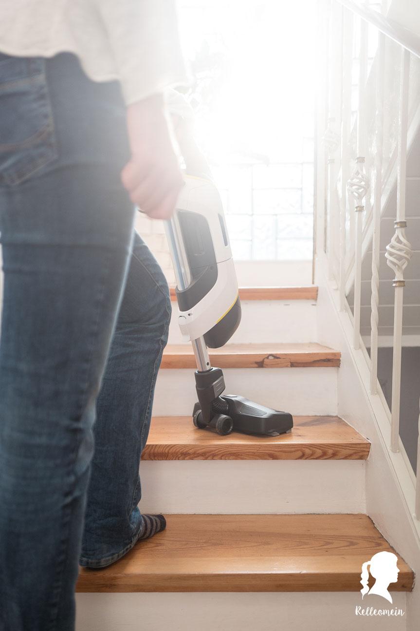 Wöchentliche Putzroutine - jeden Tag eine halbe Stunde putzen für ein sauberes Zuhause - Staub saugen | relleomein.de
