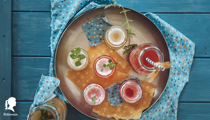 selbstgemachte Limonade mit Ginger Bug - Kirschlimonade & Apfellimonade | relleomein.de #limonade #gingerbug #fermentation