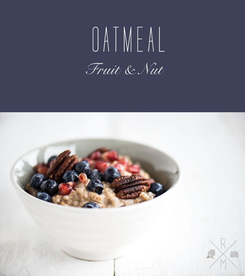 vegan oatmeal fruit and nut   relleomein.de #veganforyouth #vfy #hotcereal