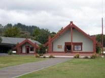Te Puia - Das Meeting House in dem sich die Gemeinde trifft