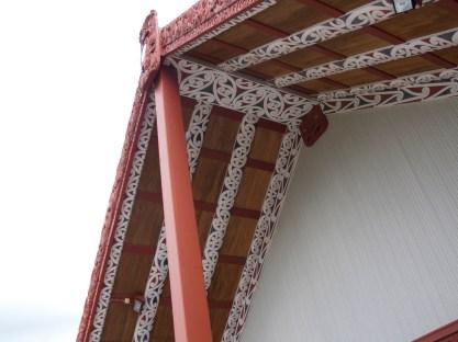 Te Puia - Dach des Meeting House
