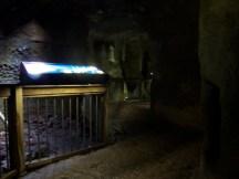 Außengelände vom Te Papa / Höhlen