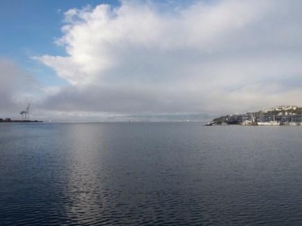 Blick in die Bay