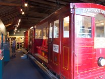 Altes Cable Car im Museum