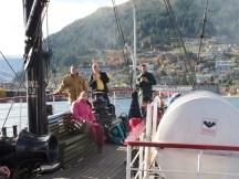 Lake Wakatipu - Das Schiff