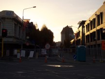 Christchurch after 3 months