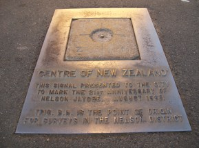 Centre of New Zealand