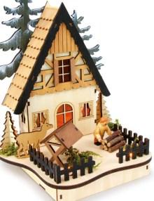 casita de madera