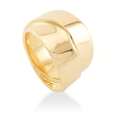 anillo gold steel