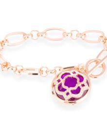 pulsera gold steel