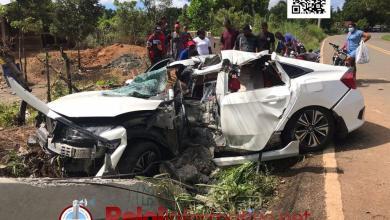 Photo of Mueren dos jóvenes tras sufrir accidente