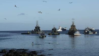 Photo of Alarma por el descubrimiento de alrededor de 260 buques pesqueros chinos cerca de las Islas Galápagos
