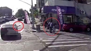Photo of Matan hombre de disparo en la cabeza mientras caminaba junto a hija en NY
