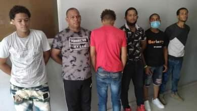 Photo of 6 personas detenidas 5 motocicletas y una camioneta en Montecristi