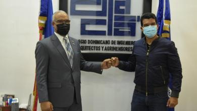Photo of Director de Inapa visita al presidente del Codia, destaca importancia del rol de este gremio
