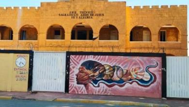 """Photo of Borran mural en Elías Piña de artista dominicano por grupo """"antihaitiano"""""""