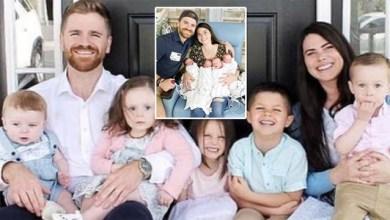 Photo of No podían ser padres; adoptaron cuatro hijos y luego tuvieron cuatrillizos