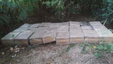 Photo of Encuentran 34 cajas de cigarrillos abandonadas a orillas del Lago Enriquillo