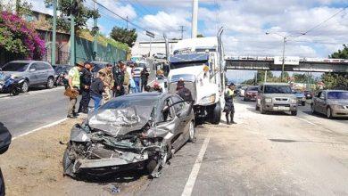 Photo of 25% muertes por tránsito ocurrieron en vías troncales