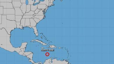 Photo of Se forma en el Caribe la depresión tropical 31 que amenaza a Centroamérica