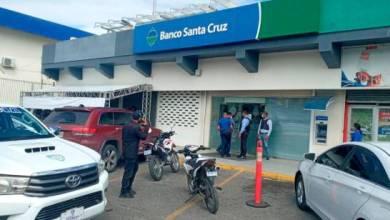 Photo of Apresan asaltantes de banco en Santiago y recuperan dinero