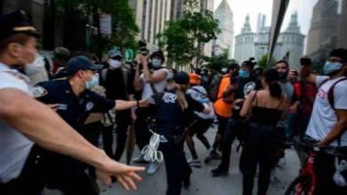 Photo of Decenas de arrestados en Nueva York en protestas contra Trump