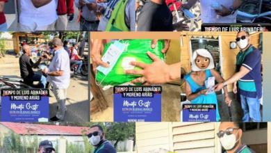 Photo of Senador Moreno Arias, regala mascarillas y bonos navideños a ciudadanos de San Fernando Montecristi.