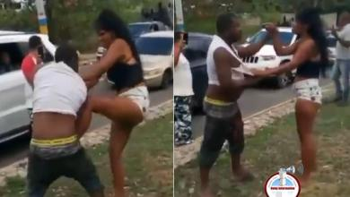 Photo of Hombre se enfrenta con mujer que le dio 'una bola' y supuestamente le robó su dinero