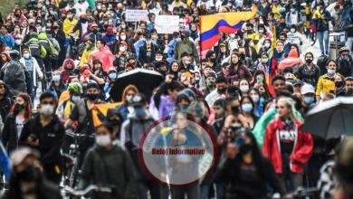 """Photo of Otra noche violenta en Colombia:a 15 policías """"trataron de quemarlos vivos"""