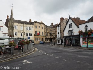 Huvudgatan i Glastonbury