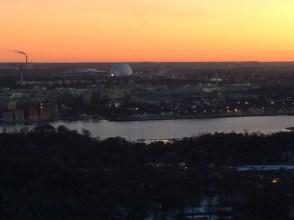 Utsikt från Kaknästornet