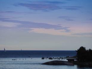 Efter solnedgång, Sandhamn