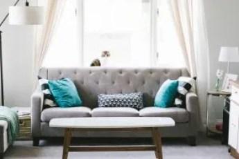 A living room sofa.