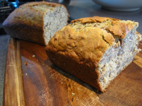 Reluctant Entertainer Banana Bread
