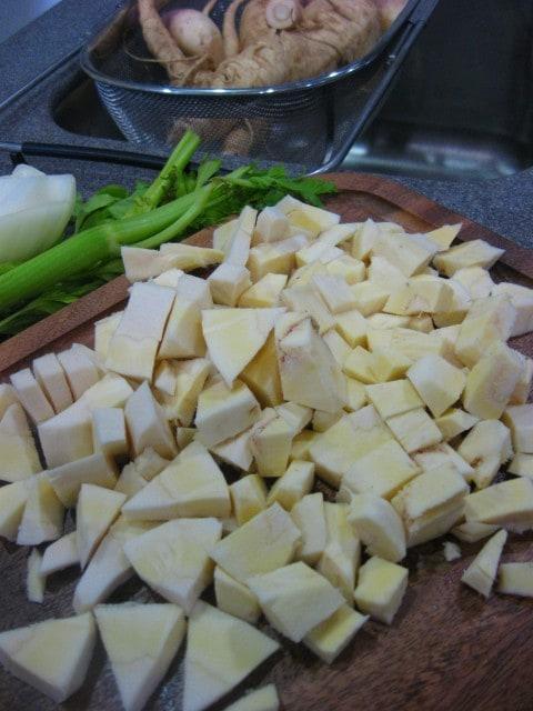 1 nudge parsnip