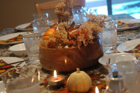 High Dessert Thanksgiving Table