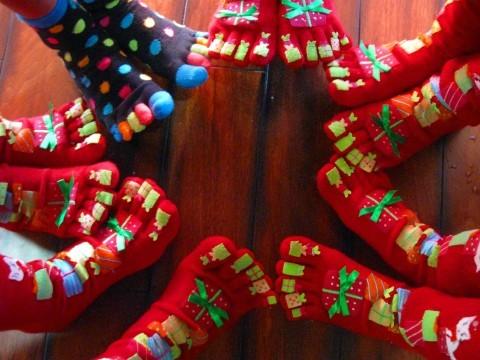 BG Toe Socks