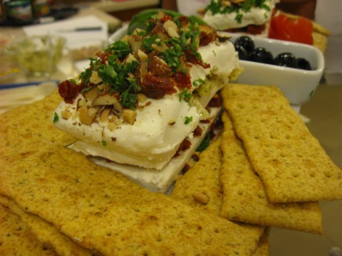 Cream cheese appetizer