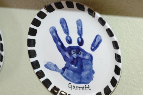 Garrett hand plate