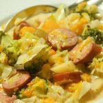 German Potato Butternut Sausage Soup