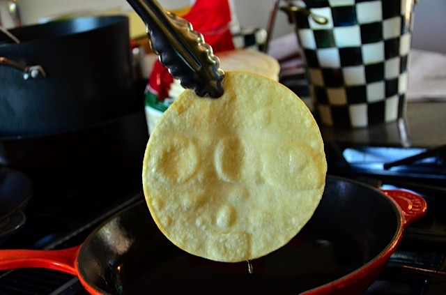 BEST WAY How to Fry Corn Tortillas